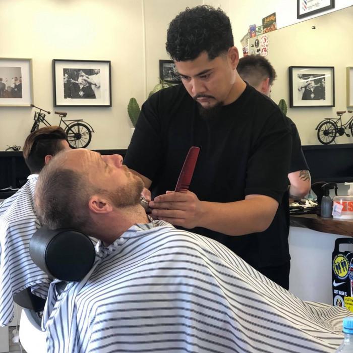 In The Cut barber: BARBER ARIEL