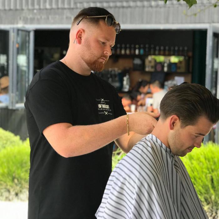 In The Cut barber: BARBER TOM