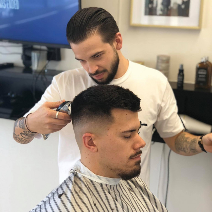 In The Cut barber: BARBER LIAM